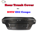 E82 Carbon Fiber Rear Trunk Cover for BMW E82 128i 135i Coulpe 2008 2009 2010 2011 Car Styling CSL Style
