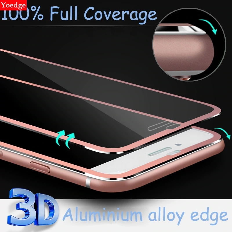 3D Curved Edge Cover Tempered Glass For iPhone 6 6S 5 5S SE 5C 11 Pro X XR XS MAX 7 8 Plus Phone Accessories Full Protector Film