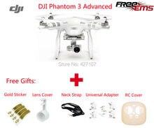 DJI Phantom 3 Avanzada RC Quadcopter Helicóptero 1080 P Cámara Con Regalos Útiles Envío libre Vía EL CCSME