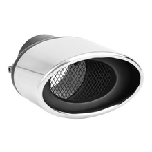 DSYCAR Universal Car Modification Stainless Steel Exhaust Pipe Muffler Tip Exhaust pipe cover for Car styling