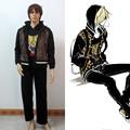 Yuri!!! on Ice Yuri Plisetsky Daily Black Suit Halloween Cosplay Costume