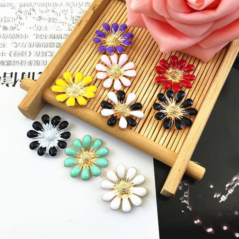 Detail Feedback Questions about (BT163 20mm)10pcs mix 8colors Vintage Alloy Rhinestone  Buttons Flatback flower Headband Bowknot Accessory Craft on ... f82fbd2b54cd