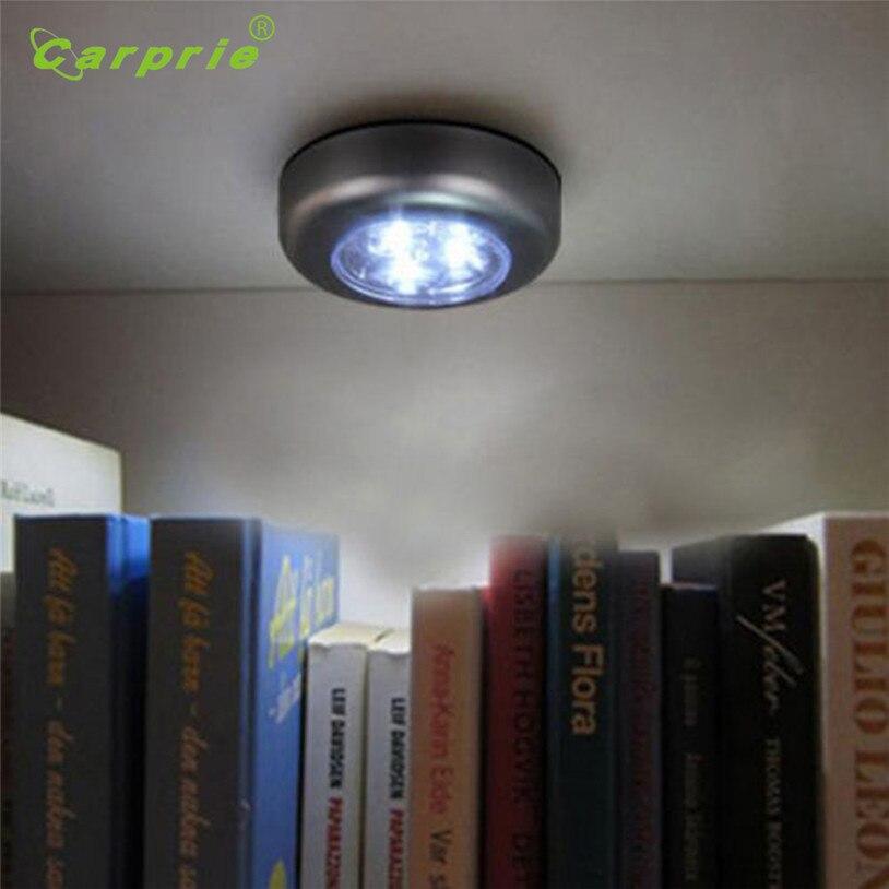 3LED Беспроводная Стик Нажмите Шкаф сенсорный свет лампы Батарея питание дома Кухня под шкаф push нажмите stick на лампы