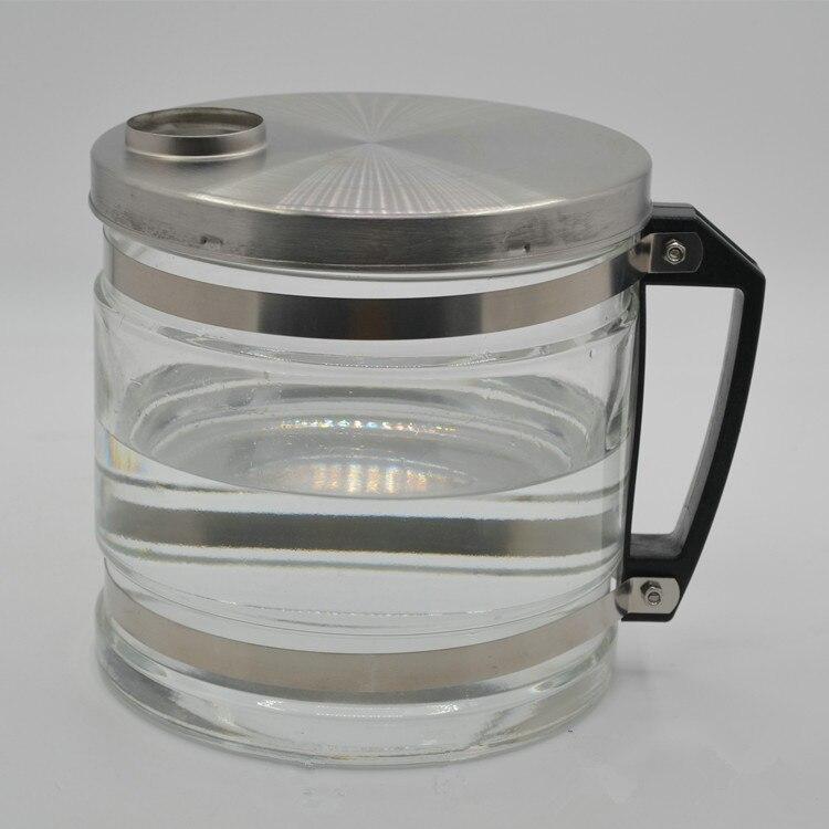 3.8L glass bucket for distilled water machine glass jar of water distiller not high temperature water distilled parts 5000ml glass bottles of distilled water labware