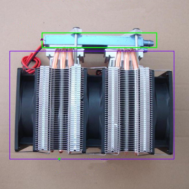 12V 144W 172W 240W 288W DIY dual-core semiconductor chip electronic refrigeration Computer cold Cool water machine Chiller kit semiconductor refrigeration and air conditioning dual core semiconductor refrigeration chip module