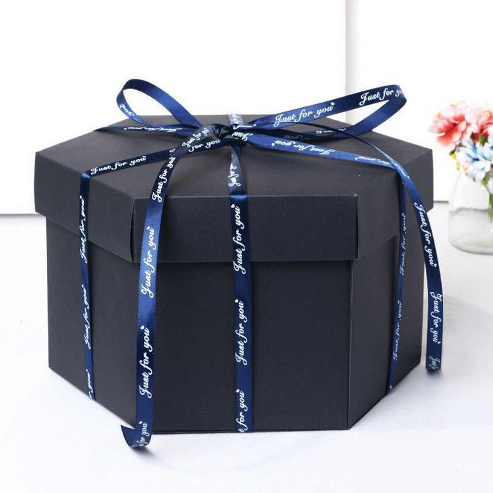 13cm Height Creative Explosion Box Love Memory Multi-layer Surprise DIY Photo Album As Birthday Anniversary Gifts