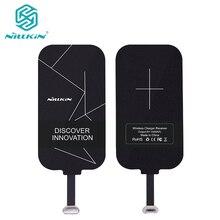 Micro USB Приемник Беспроводной Зарядное Устройство для Samsung для Android Nillkin Зарядки Адаптер Рецепторов Тонкий Коврик Катушки Qi Универсальный 5 В 1A
