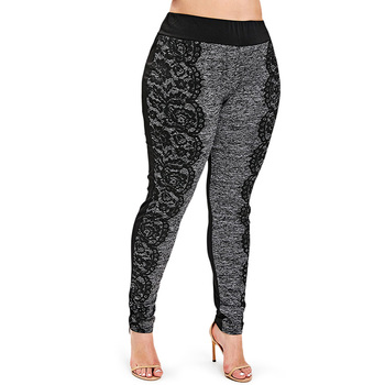 PlusMiss Plus Size 5XL Lace Crochet Leggings Women Clothes Big Size Fitness Jeggings Skinny Leggins Boho Legins XXXXL XXXL XXL 1