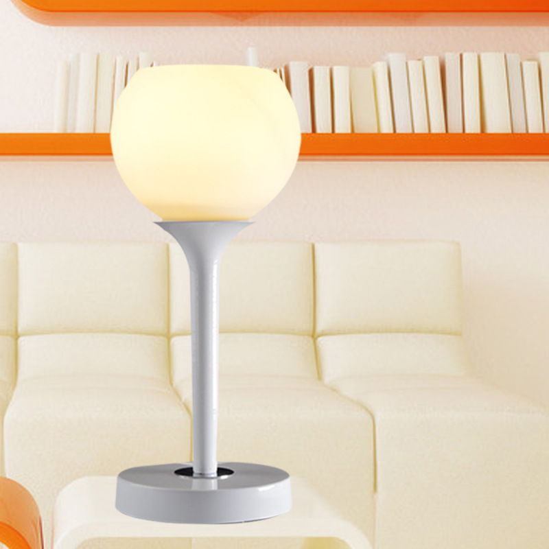 New Modern Simple Style Living Room Table Lamp, High - Grade Glass Simple Table Lamp Bedroom Bedside Lamp Lighting tuda glass shell table lamps creative fashion simple desk lamp hotel room living room study bedroom bedside lamp indoor lighting