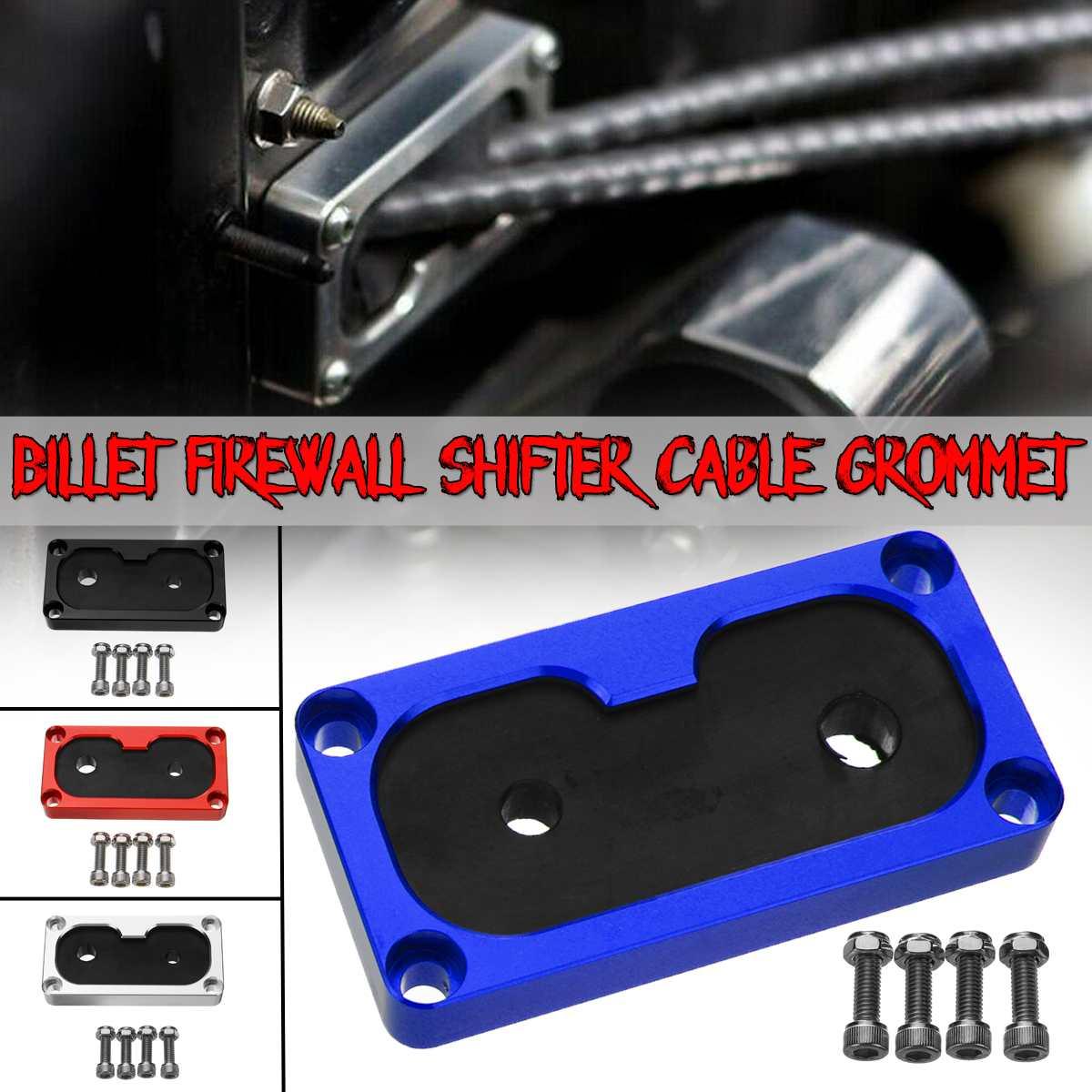 Firewall 4-cor Do Carro de Alumínio Billet Shifter Cabo Grommet Kit de Montagem w/Série K-Swap Para Honda para Civic K20 Para Acura Integra