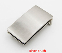 "New arrival top quality men or women DIY Leathercraft Hardware 1-3/8""( 35mm) Silver brush box Buckle Belt Buckle"