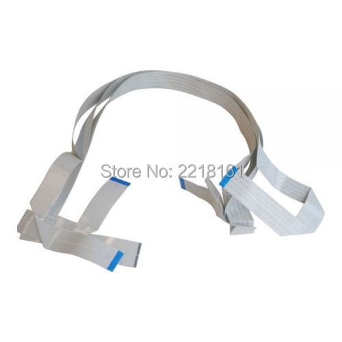 3pcs set New original Nozzle lines F187000 F186000 DX5 Printhead Cable For Epson Pro 4880 4450