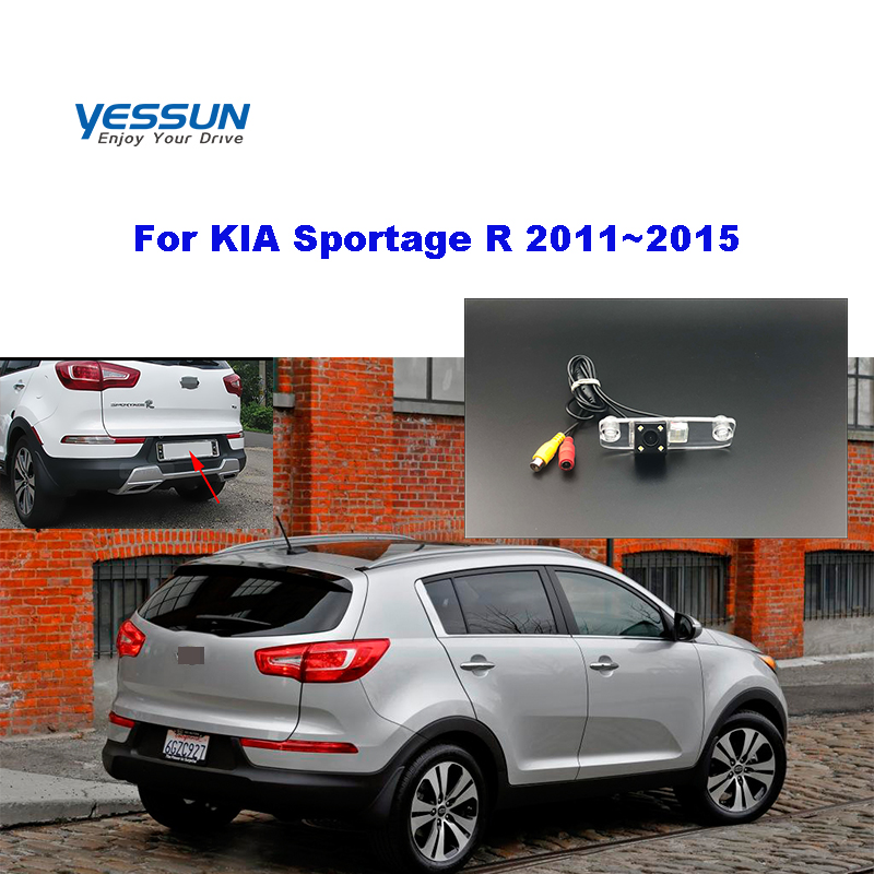 Yessun License palte camera For KIA Sportage R 2011~2015 View camera Parking Assistance(China)