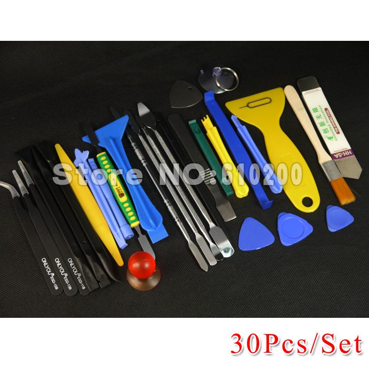 30 in1 ALL Opening Repair Tools Phone Disassemble Tools Set Kit For HTC Tablet PC For iPhone professional electronic repair tool цена