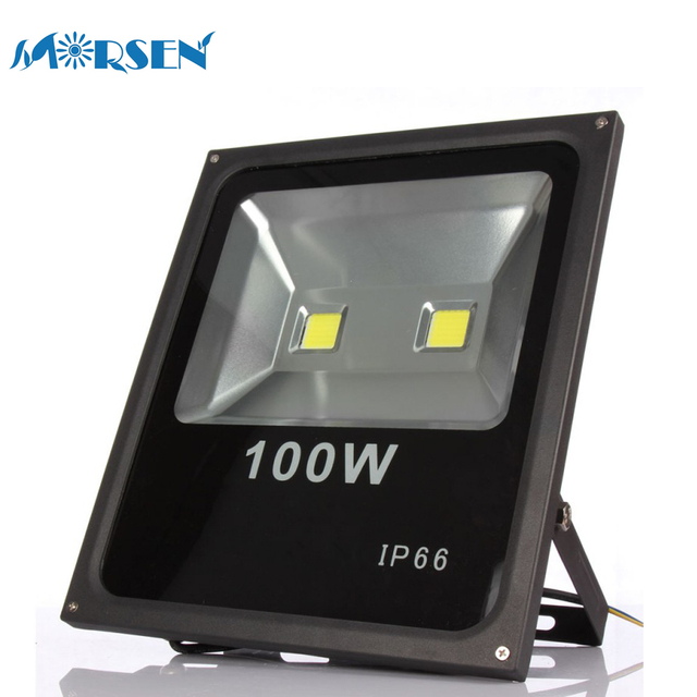 10pcs 100W Led Floodlights Spotlight Outdoor Lighting Led Floodlight Square Lighting  Led Foco Exterior Projecteur 110V