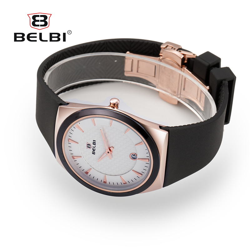 BELBI Watches Men Sport Clock Fashion Analog Quartz Watch PU Wrist Dress Watches Relogio Masculino kaladia 8911 pu strap analog quartz sport wrist watch for man
