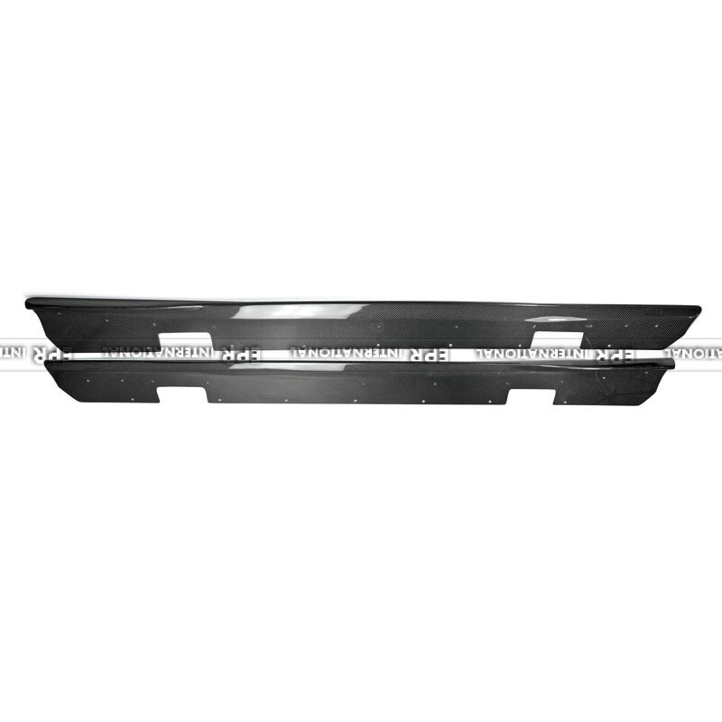 In Stock Carbon Fiber Side Skirt Under Board For OEM side skirt Car Styling Accessories For