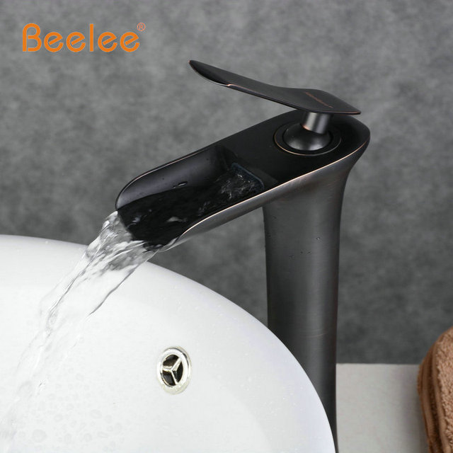 Beelee Wholesale And Retail Deck Mount Waterfall Bathroom Faucet ...