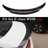 Rear Spoiler Trunk Wing Carbon Fiber Material For Mercedes E Class W238 C238 Coupe 2016 +