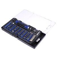 54 Bit Sürücü Kiti 57 in 1 Manyetik Hassas Tornavida Seti Cep Telefonu Bilgisayar için Çok Fonksiyonlu Onarım Araçları