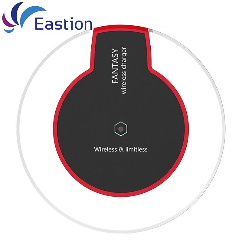 USB QI bezdrátová nabíječka pro Samsung S6 S7 Edge Plus LED - Příslušenství a náhradní díly pro mobilní telefony