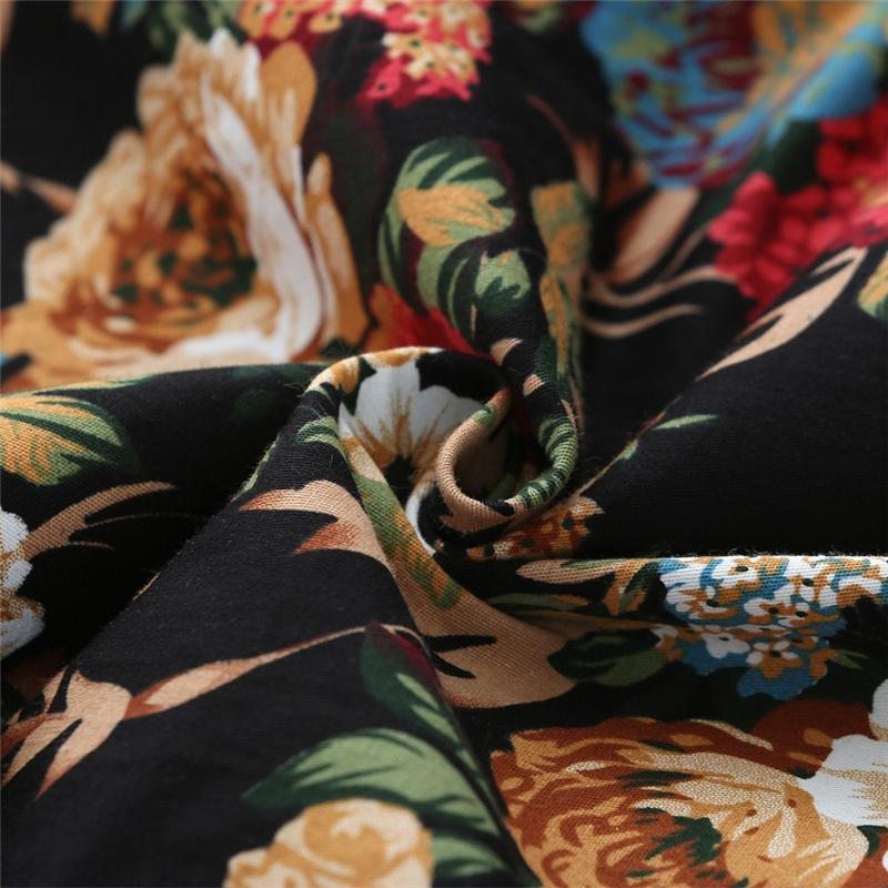 Kostlish Cotton Summer Dress Women 2017 Sleeveless Tunic 50s Vintage Dress Belt Elegant Print Rockabilly Party Dresses Sundress (37)