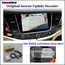 Liandlee Original Screen Update System For Buick LaCrosse 2013-2017 Rear Reverse Parking Camera Digital Decoder Rear camera liandlee original screen update system for mercedes benz gle class rear reverse parking camera digital decoder rear camera