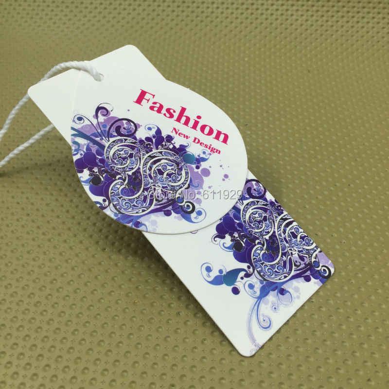 dff98f61b23 ... Пользовательские формы резки метки бумаги бирка одежды теги печати  Одежда этикетки картонные ...