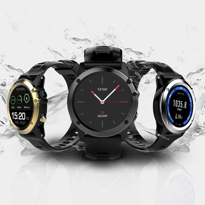 Smartch H1 Смарт-часы Android MTK6572 512 Мб 4 Гб ПЗУ GPS SIM 3g высота wifi IP68 Водонепроницаемый 5MP камера сердечный ритм SmartWatch
