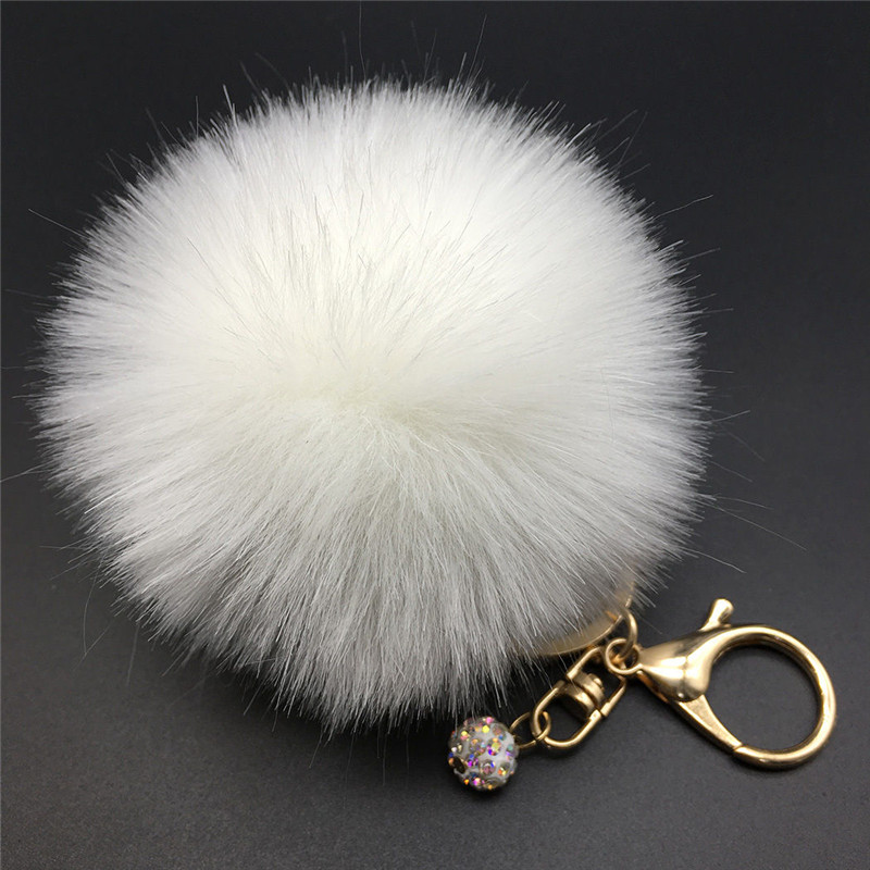 Popular Fur Ball Keychain Buy Cheap Fur Ball Keychain Lots