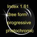 1.61 свободной форме прогрессивной фотохромные высокий индекс объектива ( UV400 ) переход HMC анти - и царапинам