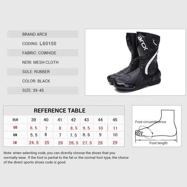 ARCX Motorcycle Boots Motocross Boots Men Waterproof Moto Boots Motorbike Riding Boots Black Botas Moto Motorcycle Shoes 5
