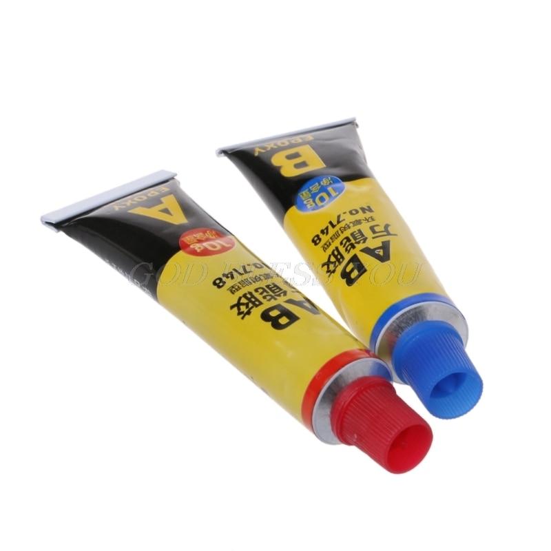 2PCS Epoxy Resin AB Glue All Purpose Adhesive Super Glue For Glass Metal Ceramic Drop Shipping 5