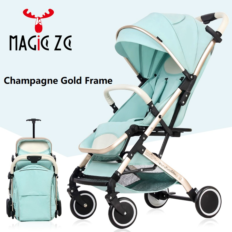 Baby stroller 2 in 1 poussette kinderwagen baby pushchair pram ultra-light folding baby car can sit can lie EU RU STOCK no tax