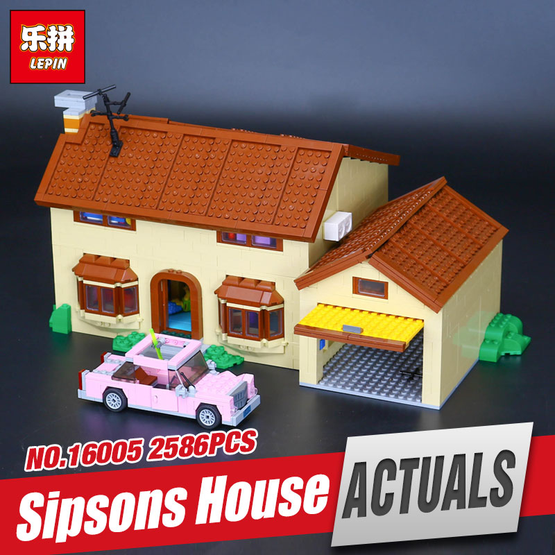 Lepin 16005 The Simpsons Bart Homer the Kwik-E-Mart Action Funny Model Building Block Bricks Compatible with 71016 in stock mart laar the power of freedom