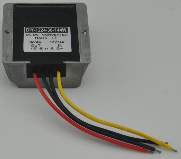 12V24V (9V-36V) Step Up To 36V 4A 144W DC DC Converter Waterproof Boost Module Power Supply Adapter Voltage Regulator12V24V (9V-36V) Step Up To 36V 4A 144W DC DC Converter Waterproof Boost Module Power Supply Adapter Voltage Regulator