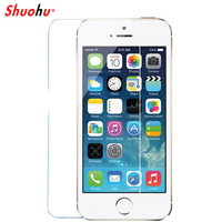 Shuohu Anti Shatter Protective Tempered Glass for Iphone 7 7 Plus 6 6s 5 5s Screen Protector Film for Iphone 6 6s Plus Glass