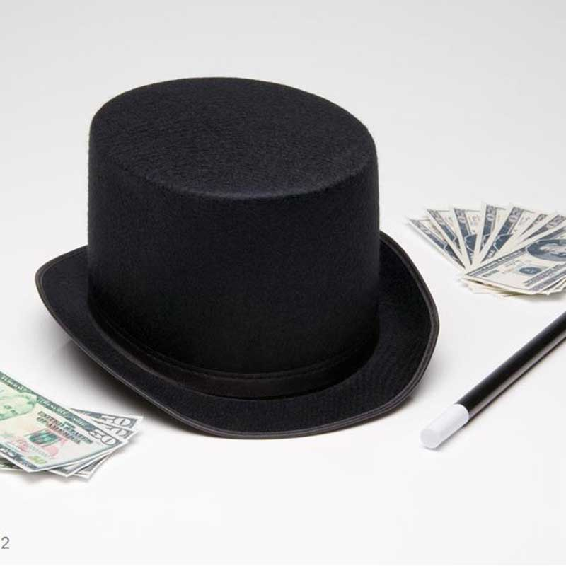 Hats Caps Felt-Hat Magician Party Halloween Dg88 Props-Supplies Costume Traditional