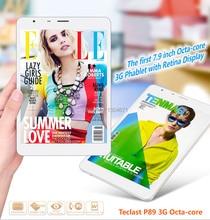 Teclast P89 3 G MTK8392 Octa Core Tablet PC de 7.9 pulgadas IPS Retina Screen 2048 X 1536 Bluetooth GPS 3 G llamada de teléfono de 2 GB / 16 GB