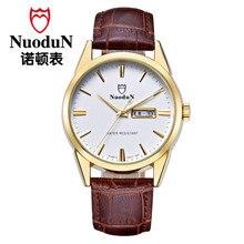 Мужчины Кварцевые Часы Montre Homme Мужская Мода Наручные Super Slim Кварцевые Наручные Часы Повседневная Бизнес Натуральная Кожа Кварцевые Часы