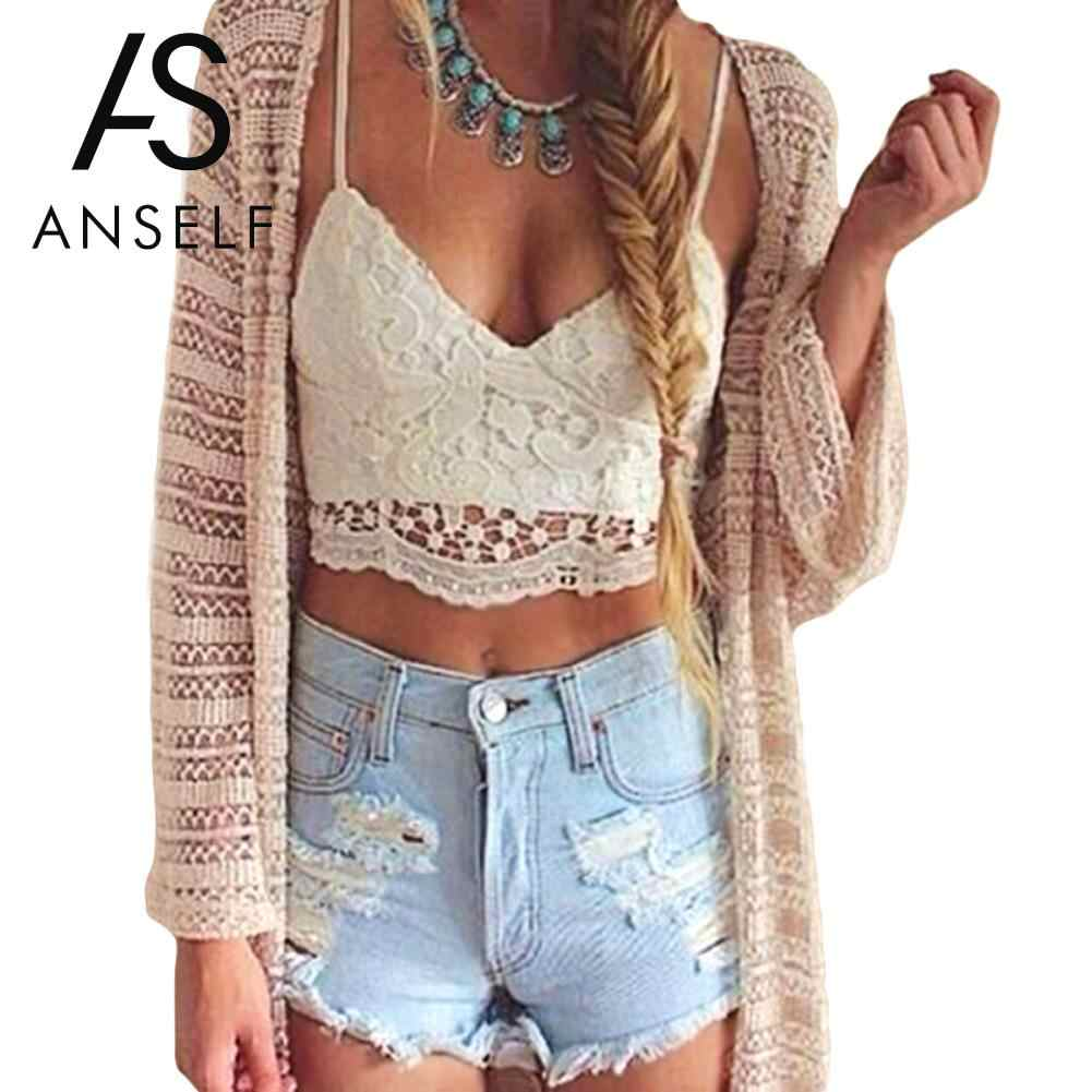0f82935f8a4 2019 Summer Sexy Lace Tops Women Crop Top Crochet Lace Deep V Neck  Spaghetti Strap Backless