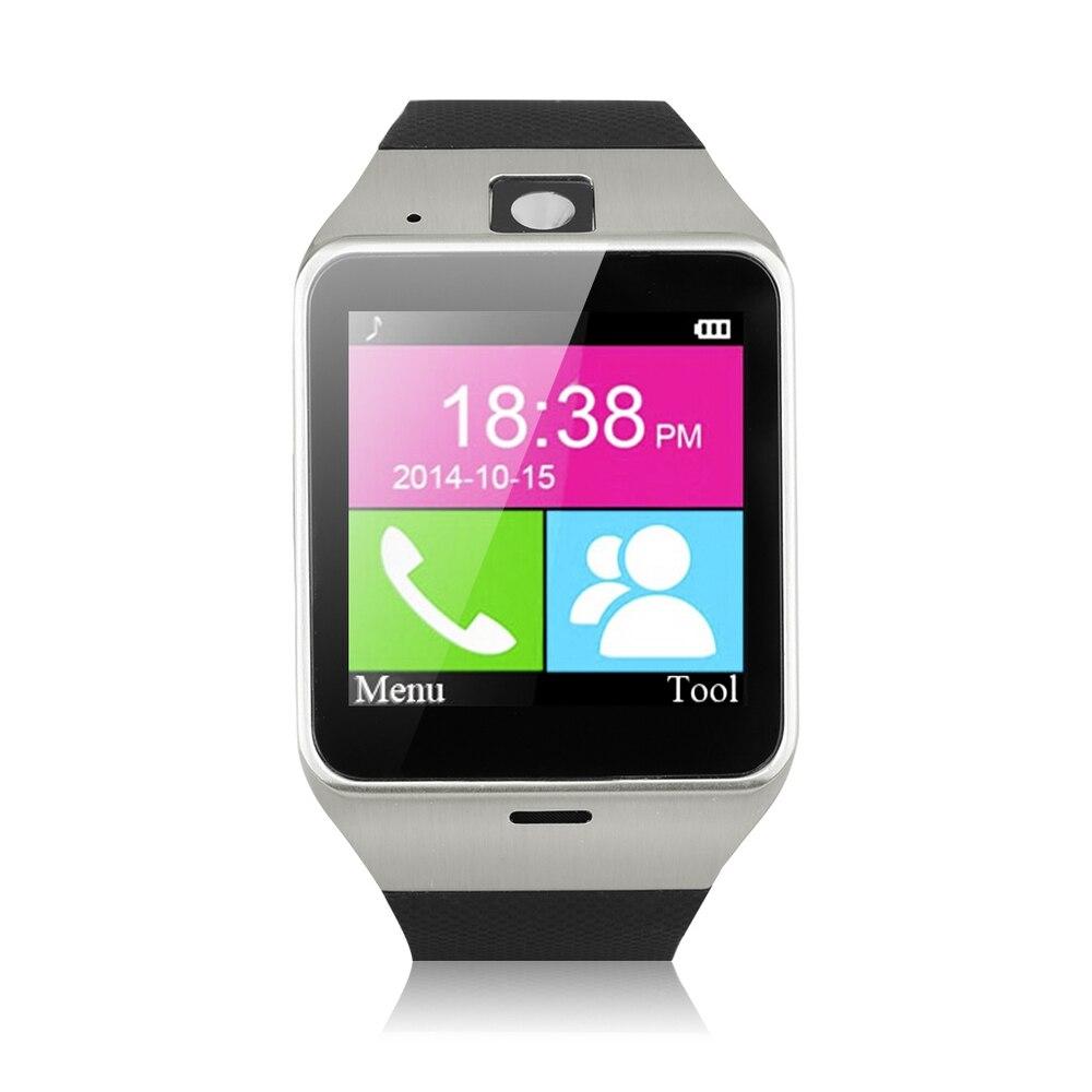 Bluetooth font b Smart b font font b Watch b font Aplus GV18 Clock Sync Notifier