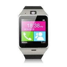 บลูทูธสมาร์ทนาฬิกาA Plus GV18นาฬิกาซิงค์แจ้งเตือนสนับสนุนซิมการ์ดการเชื่อมต่อS Mart W Atchนาฬิกาข้อมือสำหรับโทรศัพท์