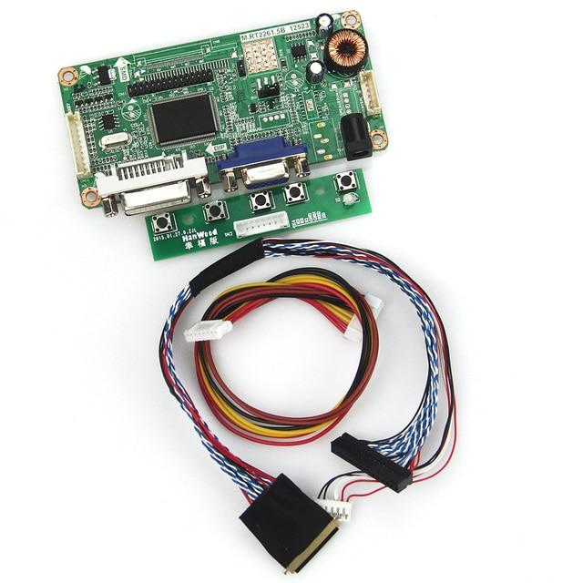 (VGA + DVI) М. RT2261 М. RT2281 LCD/LED Драйвер Контроллера Совета Для LTN101NT02 B101AW03 LVDS Монитор Повторное Ноутбук 1024x600