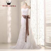 Custom Size Ball Gown High Low Lace Satin Beading Wedding Dress Robe De Mariage Vestido De