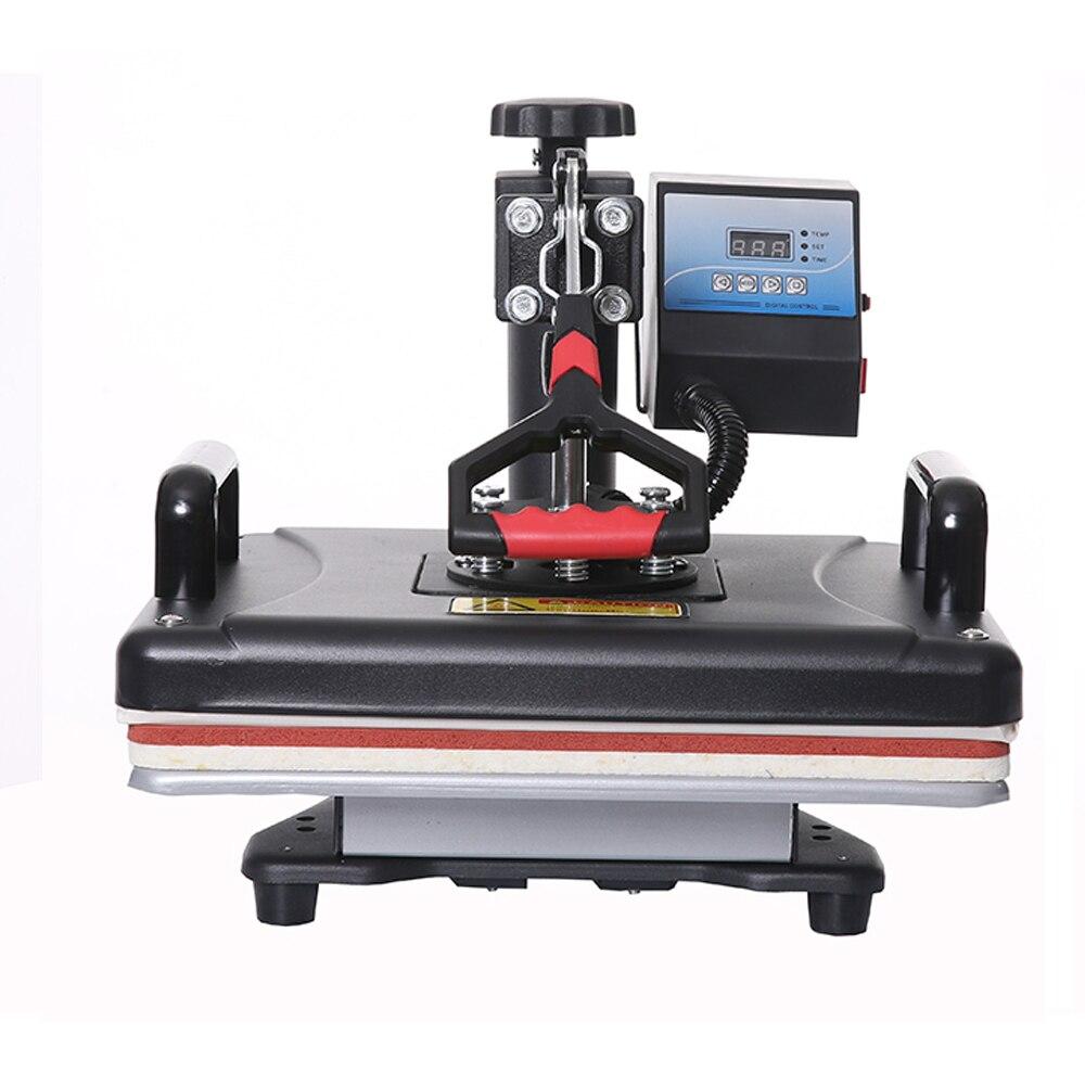 Goedkope 8 in 1 Warmte Pers/warmteoverdracht/Sublimatie/Warmte Druk Machine/Thermische Printer Sublimatie Voor tshirt/Mok/Cap/Telefoon Gevallen - 2