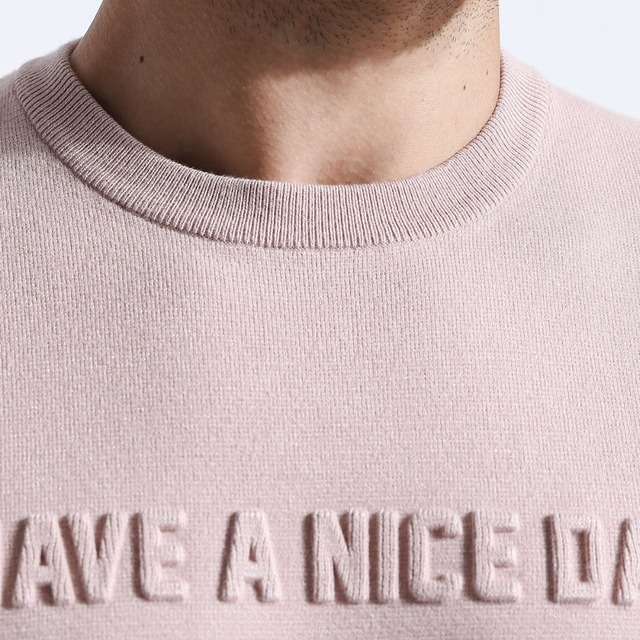 SIMWOOD 2018 Autumn Winter 3D Print Letter Sweater Men O-neck Knitted Fashion Pullovers Slim Fit High Quality Clothes 180423