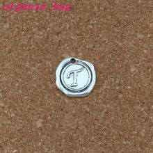 Single side Letter T Alphabet Initial alloy Charms Pendants 100pcs/lots Antique Silver Fashion Jewelry DIY 18x18.5MM