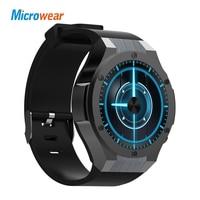 Microwear H2 3G Smartwatch Phone 1 39 Inch MTK6580 Quad Core 16GB ROM 2 0MP Cam