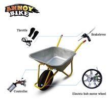 14inch Elecetric Bicycle Wheelbarrow Kit Single Wheel High Torque Gear Wheelbarrow Hub Motor Kit 24v 36v Bicicleta Electrica